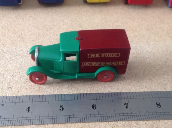 "Dinky Toys copy model 28 Series Type 1 Delivery Van ""W. E. Boyce Archway Rd Highgate"""